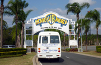 Charter Bus to explore Gold Coast Theme Parks